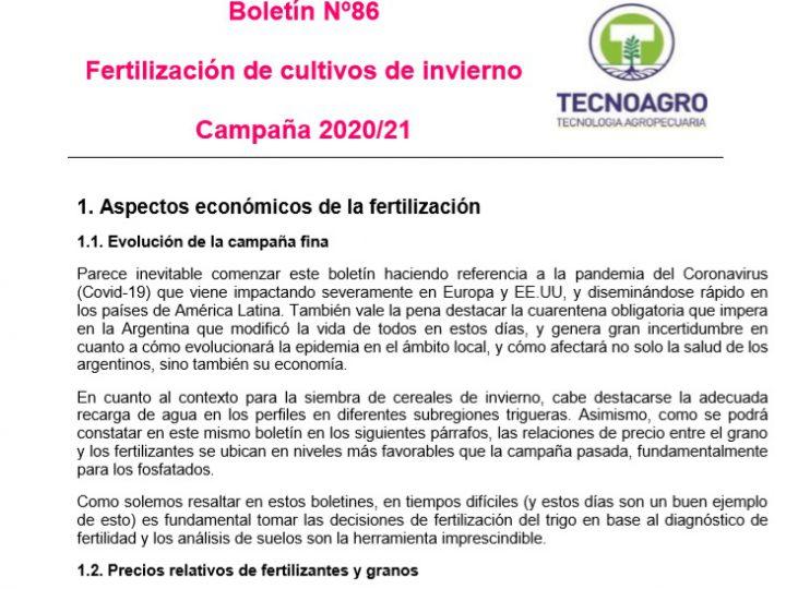 Boletín fina 2020