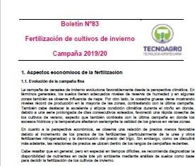 Boletín Fina 2019